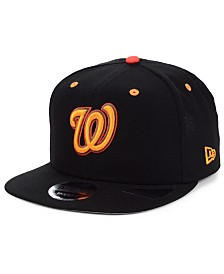 New Era Washington Nationals Orange Pop 9FIFTY Cap