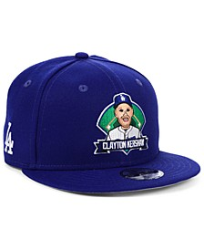 Big Boys Clayton Kershaw Los Angeles Dodgers Lil Player 9FIFTY Snapback Cap