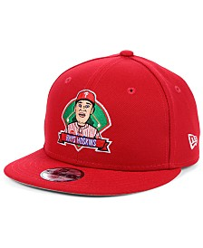 New Era Big Boys Rhys Hoskins Philadelphia Phillies Lil Player 9FIFTY Snapback Cap