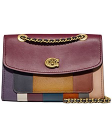 Patchwork Stripe Parker Shoulder Bag
