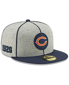 New Era Chicago Bears On-Field Sideline Home 59FIFTY-FITTED Cap