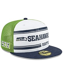 Seattle Seahawks On-Field Sideline Home 59FIFTY-FITTED Cap