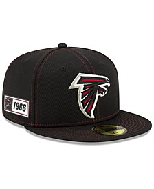 Atlanta Falcons On-Field Sideline Road 59FIFTY-FITTED Cap