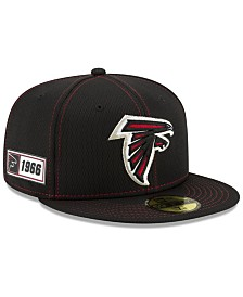 New Era Atlanta Falcons On-Field Sideline Road 59FIFTY-FITTED Cap