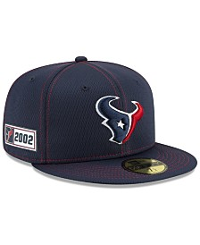 New Era Houston Texans On-Field Sideline Road 59FIFTY-FITTED Cap