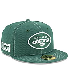 New York Jets On-Field Sideline Road 59FIFTY-FITTED Cap