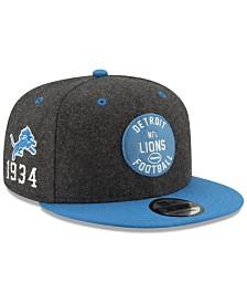 New Era Detroit Lions On-Field Sideline Home 9FIFTY Cap