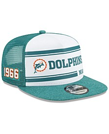 Miami Dolphins On-Field Sideline Home 9FIFTY Cap