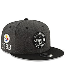 Pittsburgh Steelers On-Field Sideline Home 9FIFTY Cap
