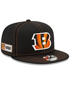 New Era Cincinnati Bengals On-Field Sideline Road 9FIFTY Cap