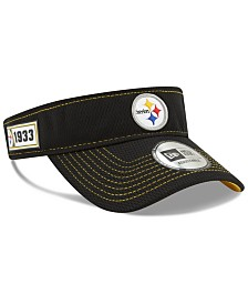 New Era Pittsburgh Steelers 2019 On-Field Sideline Visor