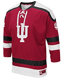 Men's Indiana Hoosiers Mr. Plow Hockey Jersey