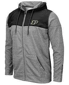 Colosseum Men's Purdue Boilermakers Nelson Full-Zip Hooded Sweatshirt