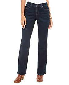 Petite Power Sculpt Bootcut Jeans, Created for Macy's