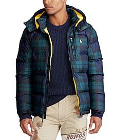 Men's Tartan Down Jacket