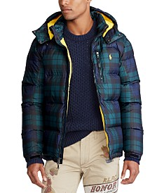 Polo Ralph Lauren Men's Tartan Down Jacket