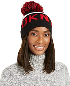 Logo Stadium Beanie With Pom