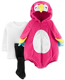 Carter's Baby Girls 3-Pc. Little Parrot Costume
