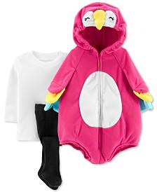 Carter's Baby Girls 3-Pc. Little Parrot Costume