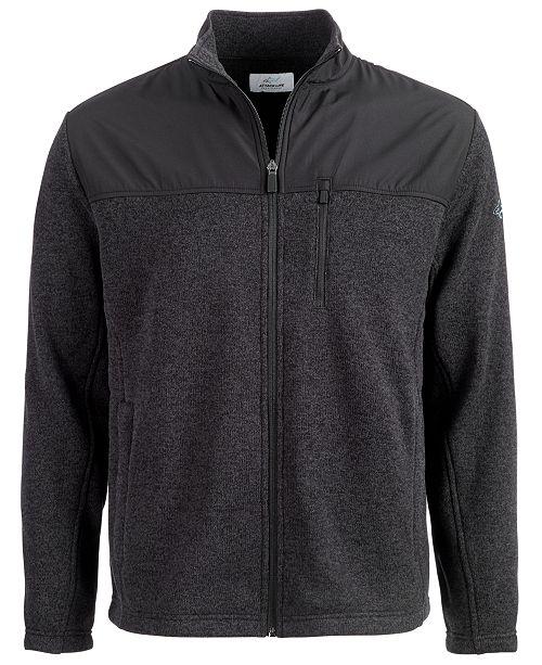 Greg Norman Colorblocked Zip Sweater