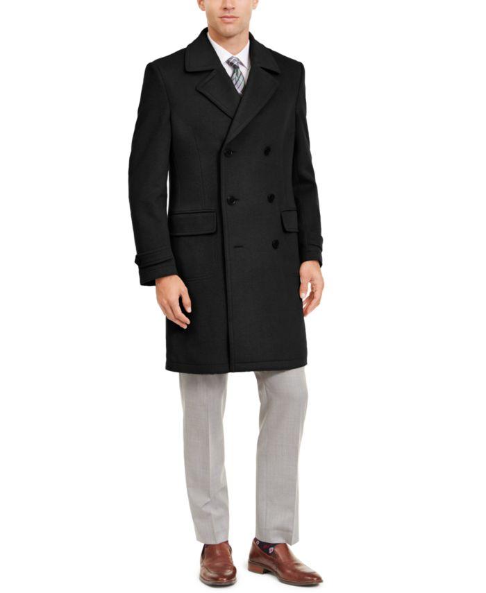 Lauren Ralph Lauren Men's Classic-Fit Double Breasted Lumber Peacoat & Reviews - Coats & Jackets - Men - Macy's