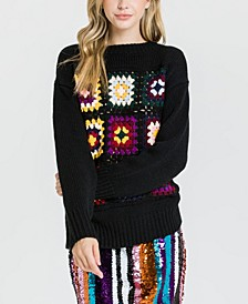 Crochet Motif Sweater