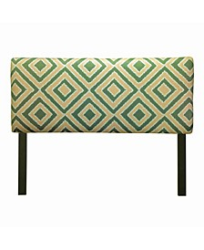 Nouveau Adjustable Upholstered Headboard, Twin Size