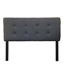 Loft Adjustable Upholstered Headboard, Queen Size