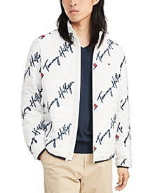 Men's Insulator Quilted Logo-Print Jacket