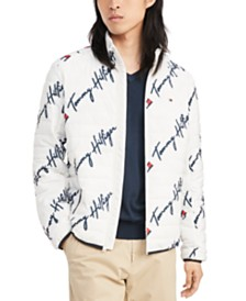 Tommy Hilfiger Men's Insulator Quilted Logo-Print Jacket