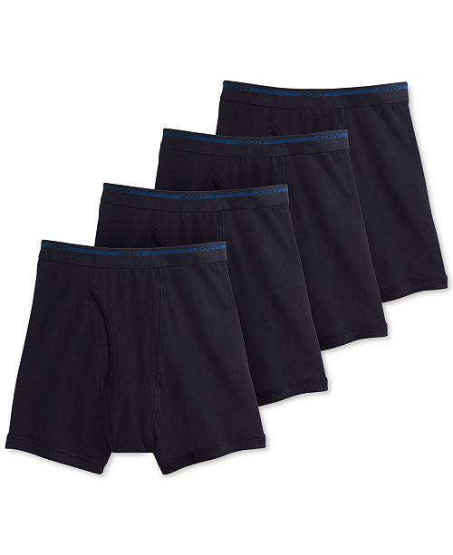 Jockey Men's 3-pack + 1 bonus Classic Cotton Boxer Brief