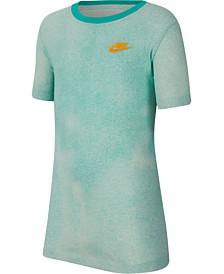Nike Big Boys Printed Cotton T-Shirt