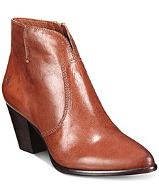Women's Jennifer Ankle Leather Booties , Created for Macy's