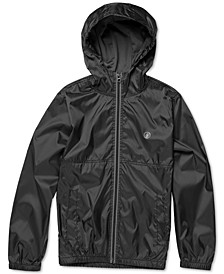 Big Boys Ermont Hooded Windbreaker Jacket