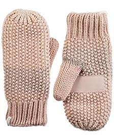Women's Acrylic Knit Lurex Mittens