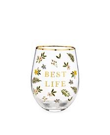 Best Life Stemless Wine Glass