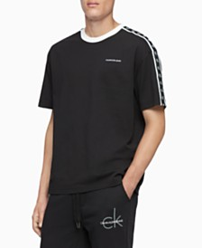 Calvin Klein Jeans Men's Monogram Tape Logo T-Shirt