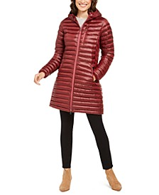 Women's Long Avant Featherless Hooded Jacket