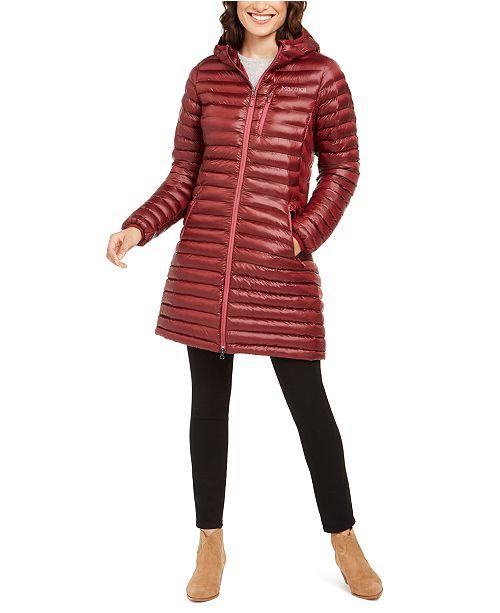 Marmot Women's Long Avant Featherless Hooded Jacket