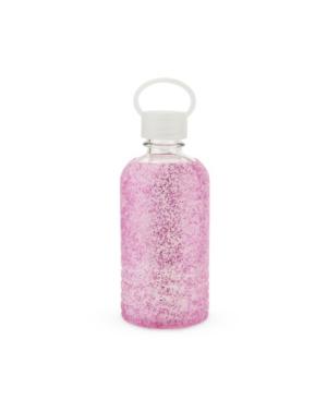 Blush Glimmer Glitter Silicone Water Bottle
