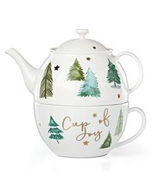 Balsam Lane Cup of Joy Tea Pot & Cup