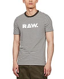 Men's Striped Logo T-Shirt, Created For Macy's