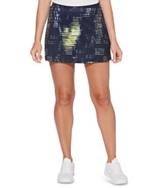 Grand Slam Printed Tennis Skort