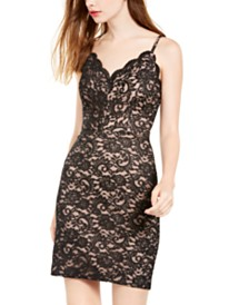 Morgan & Company Juniors' Lace Sheath Dress