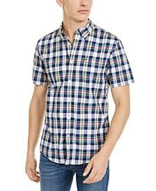 Men's Slayton Custom-Fit Plaid Shirt