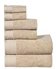 City Line Berkley 6-Pc. Towel Set
