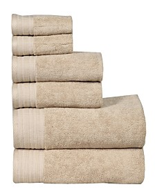 City Line Berkley 6-Pc. Towel Set