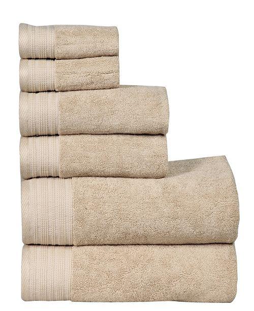 City Line Collection City Line Berkley 6-Pc. Towel Set