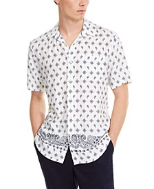 Men's Bandana Print Shirt, Created For Macy's