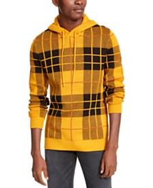 American Rag Men's Tartan Hoodie, Created For Macy's